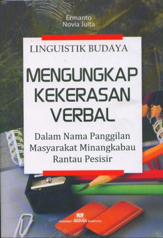 Cover Buku Linguistik Budaya Mengungkap Kekerasan Verbal