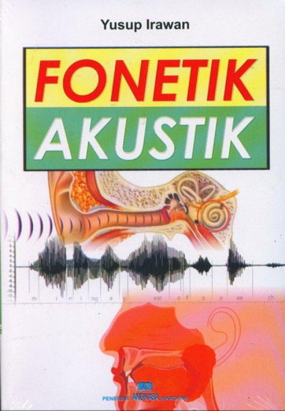 Cover Buku Fonetik Akustik