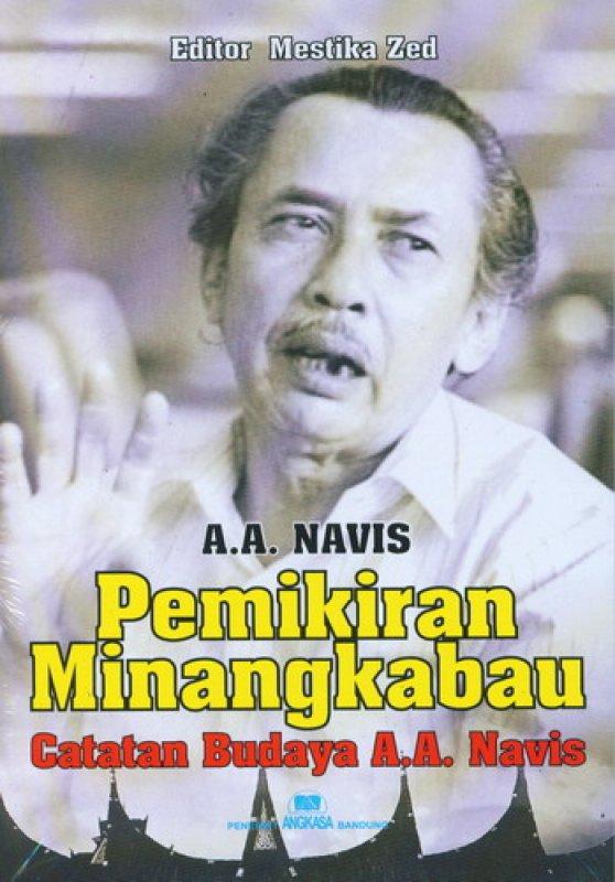 Cover Buku Pemikiran Minangkabau Catatan Budaya A.A. Navis