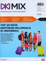 Majalah MIX Marketing Communications Edisi 12 | 26 April - 20 Mei 2017