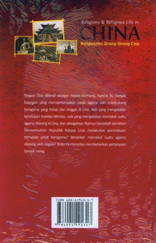 Cover Belakang Buku Religions & Religious Life in CHINA - Religiusitas Orang-Orang Cina