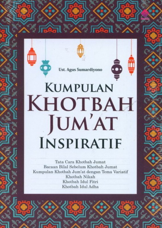 Cover Buku Kumpulan Khotbah Jumat Inspiratif