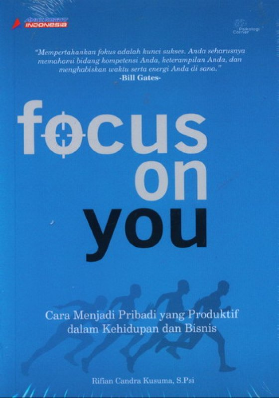 Cover Buku Focus On You