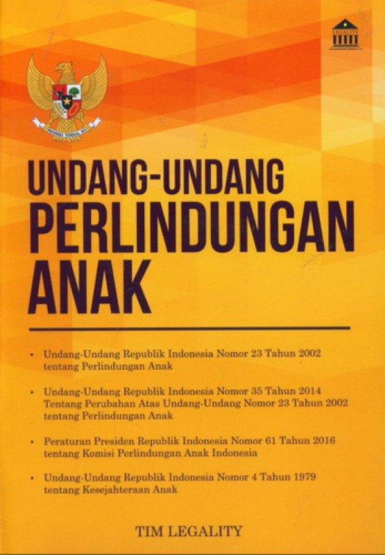 Cover Buku Undang-Undang Perlindungan Anak