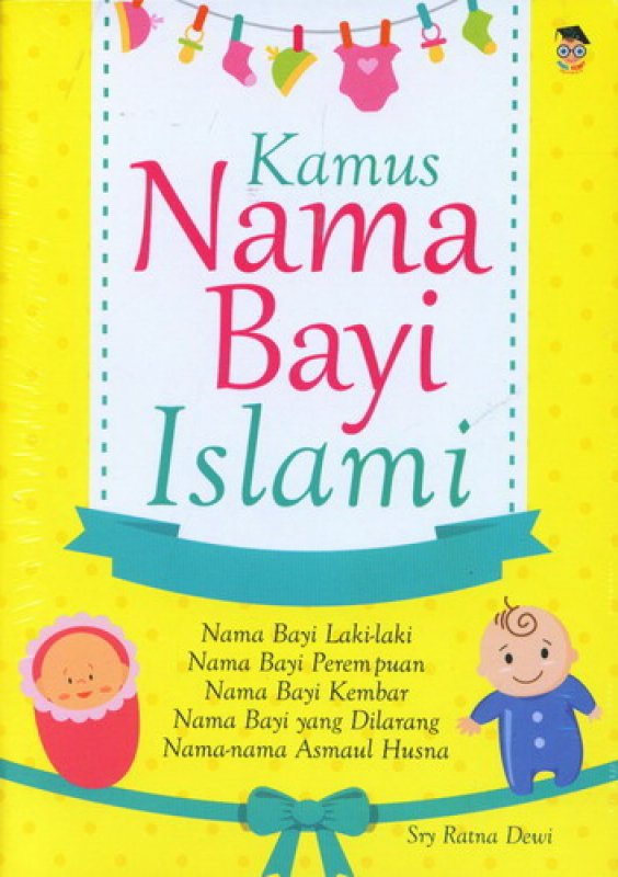 Cover Buku Kamus Nama Bayi Islami