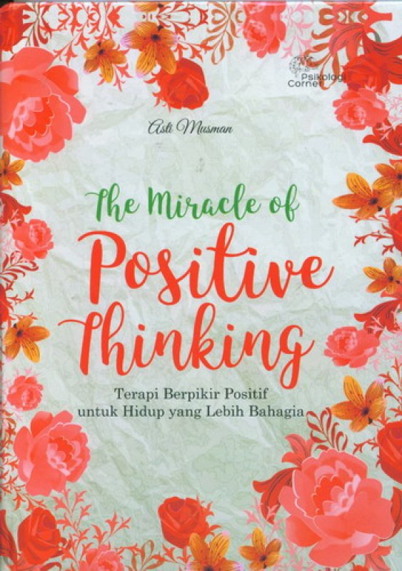 Cover Buku The Miracle of Positive Thinking
