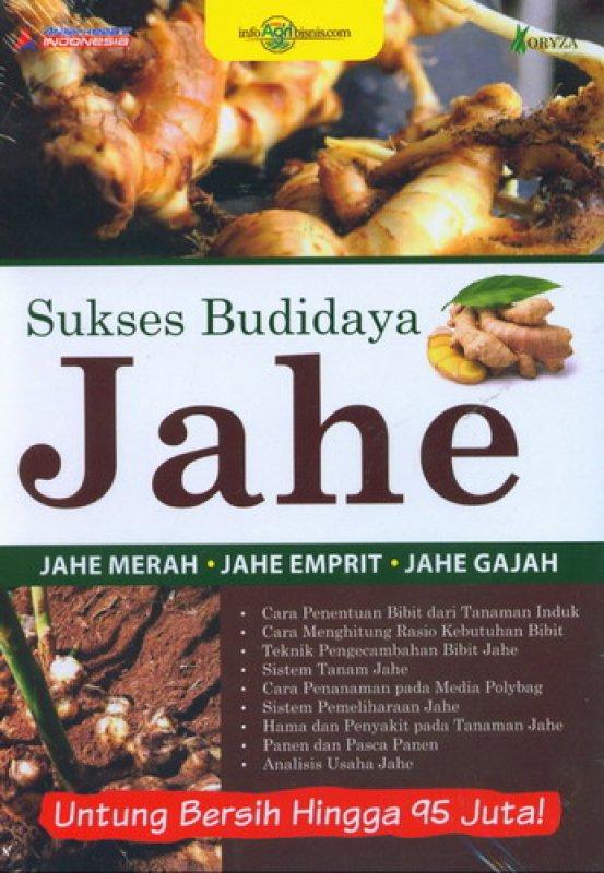 Cover Buku Sukses Budidaya Jahe (Untung Bersih Hingga 95 Juta)