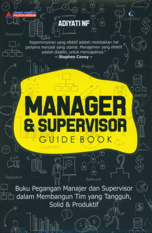 Cover Manager & Supervisor - Guide Book