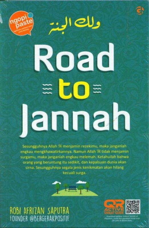 Cover Buku Road To Jannah