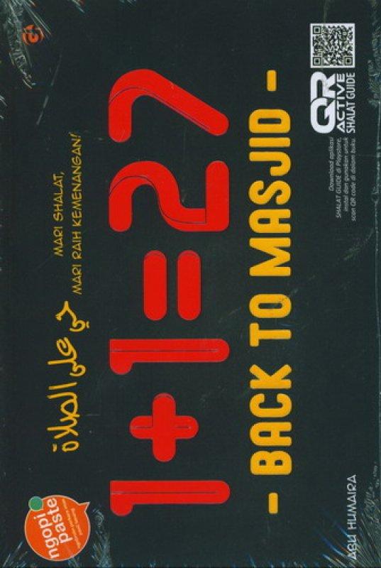 Cover Buku Back To Masjid (1+1=27)
