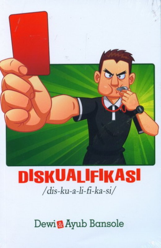 Cover Buku DISKUALIFIKASI
