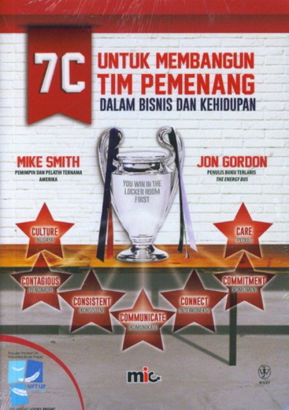 Cover Buku You Win In The Locker Room First - 7C Untuk Membangun Tim Pemenang
