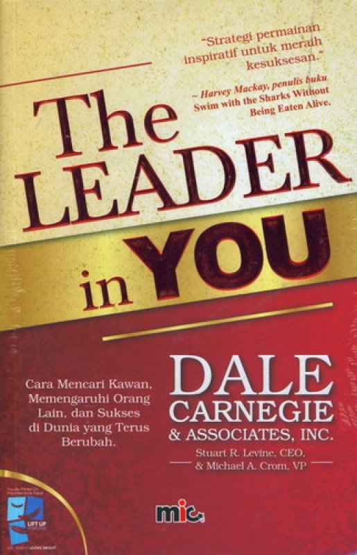 Cover Buku The Leader in You