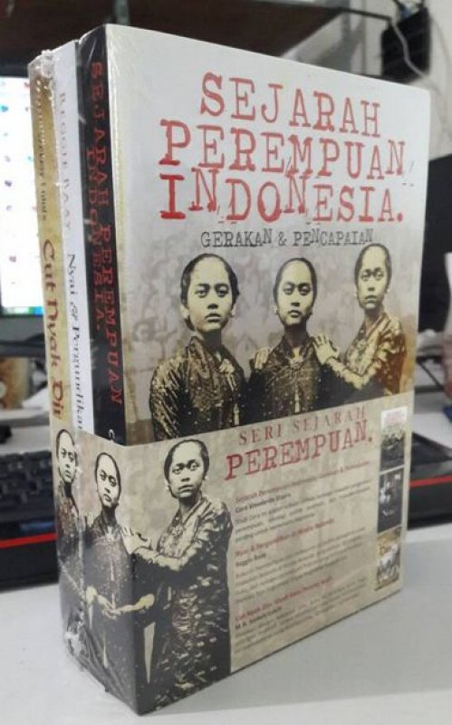 Cover Buku Seri Sejarah Perempuan