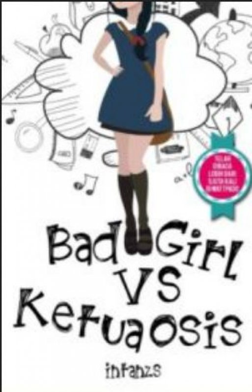 Cover Buku Bad Girls Vs Ketua Osis