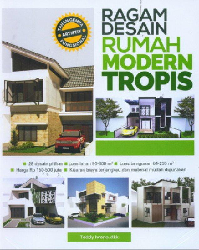 Cover Buku Ragam Desain Rumah Modern Tropis