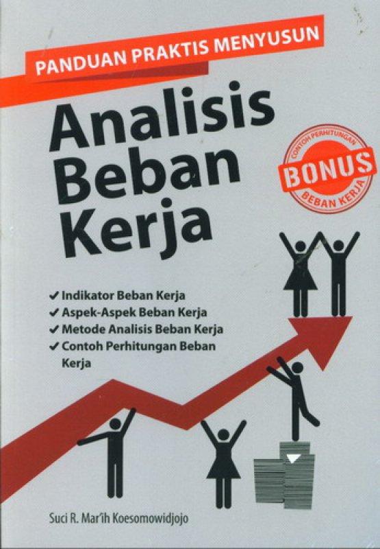 Cover Buku Panduan Praktis Menyusun Analisis Beban Kerja