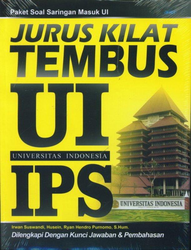 Cover Buku Jurus Kilat Tembus UI IPS