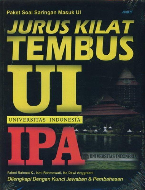 Cover Buku Jurus Kilat Tembus UI IPA