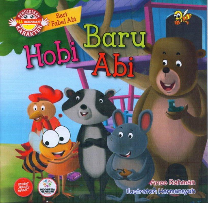 Cover Buku Seri Fabel Abi: Hobi Baru Abi