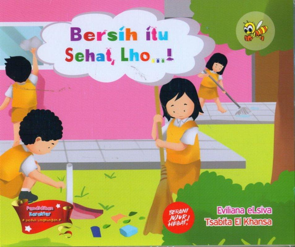 Cover Buku Bersih Itu Sehat Lho
