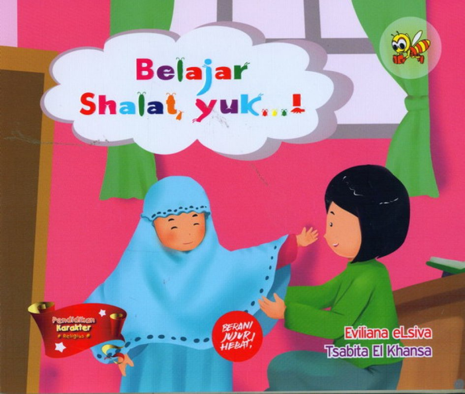 Cover Buku Belajar Shalat Yuk