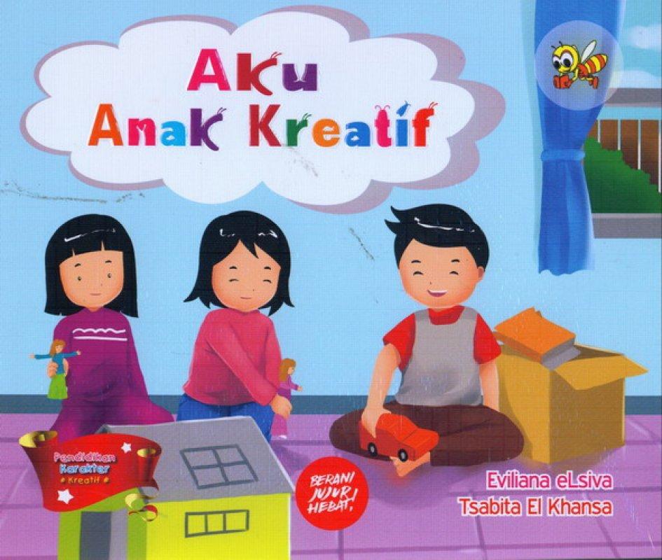 Cover Buku Aku ANak Kreatif