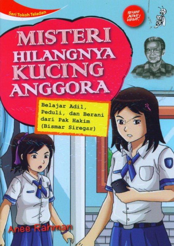 Cover Buku Seri Tokoh Teladan: Misteri Hilangnya Kucing Anggora