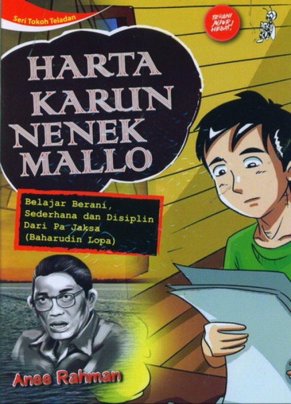 Cover Buku Seri Tokoh Teladan: Harta Karun Nenek Mallo