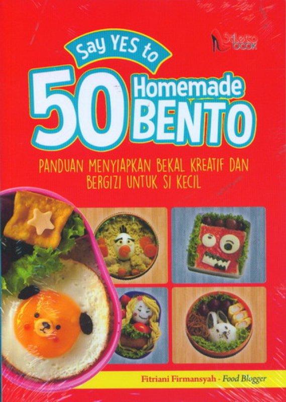 Cover Buku Say Yes to 50 Homemade Bento