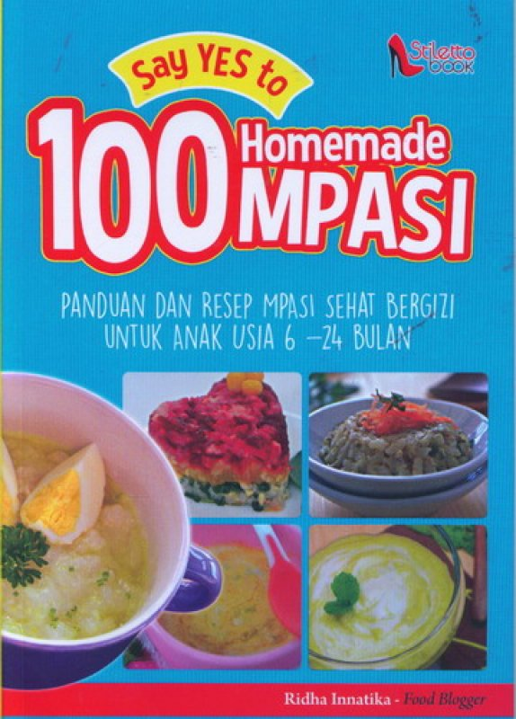 Cover Say Yes to 100 Homemade MPASI