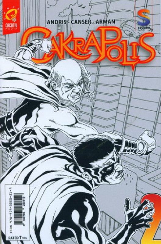 Cover Buku CAKRAPOLIS #2 [FULL COLOR]