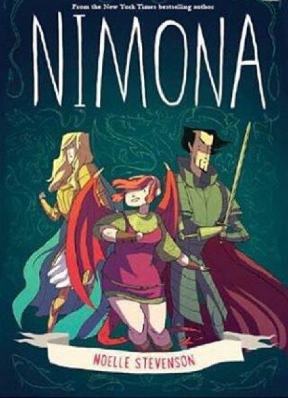Cover Buku Nimona