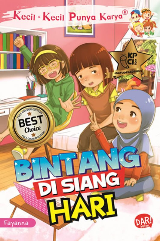 Cover Buku KKPK FULL COLOUR: BINTANG DI SIANG HARI
