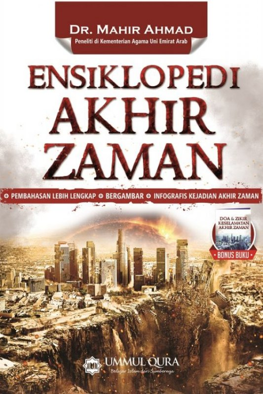 Cover Buku Ensiklopedi Akhir Zaman