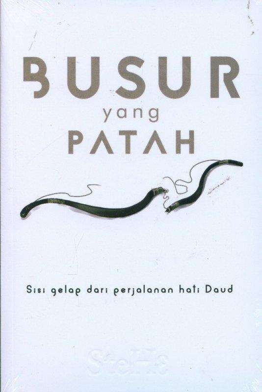 Cover Buku Busur yang Patah: Sisi Gelap dari Perjalanan Hati Daud