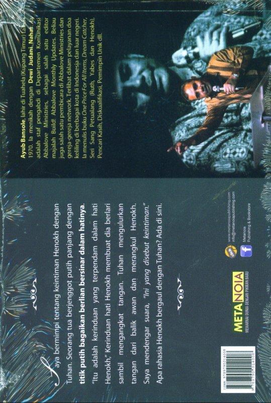 Cover Belakang Buku Henokh (Petualangan yang Diangkat ke Sorga)