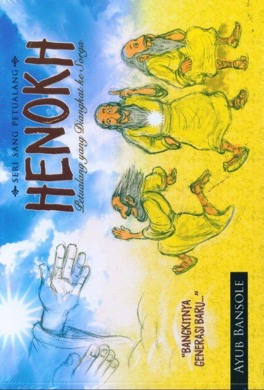 Cover Buku Henokh (Petualangan yang Diangkat ke Sorga)