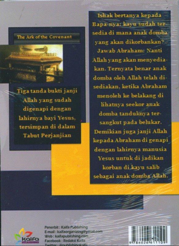 Cover Belakang Buku Anak Domba Allah