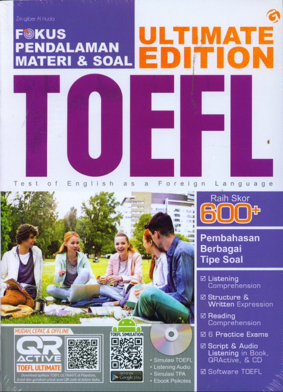Cover Buku ULTIMATE EDITION TOEFL