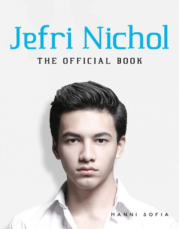 Cover Buku Jefri Nichol - The Official Book (Disc 50%)