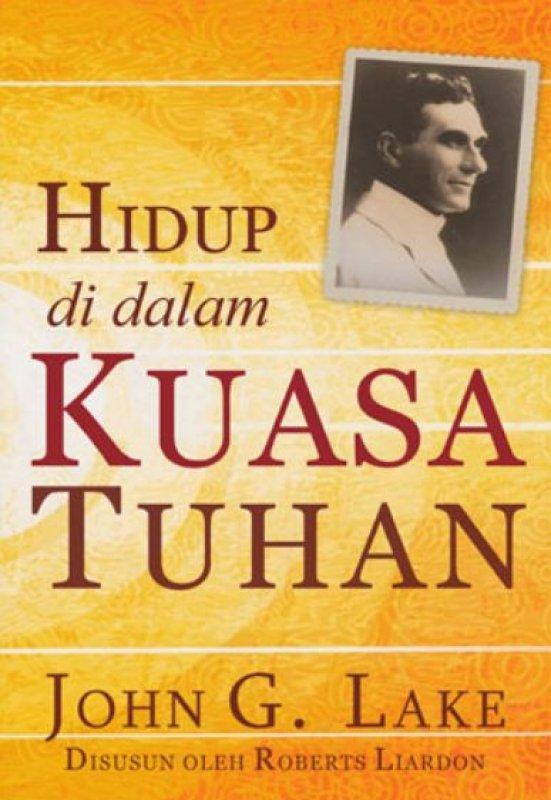 Cover Buku Hidup di dalam Kuasa Tuhan