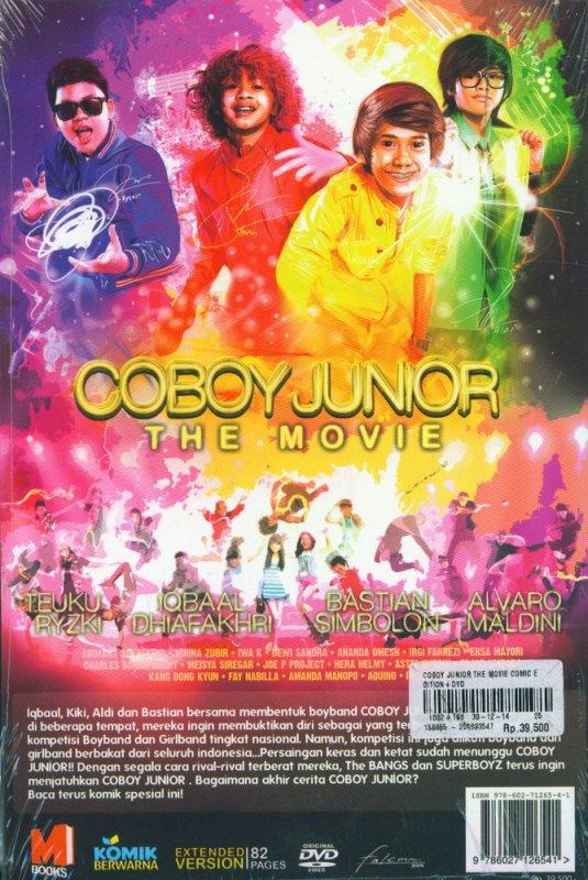Cover Belakang Buku COBOY JUNIOR THE MOVIE - COMIC EDITION [BONUS DVD FILM]