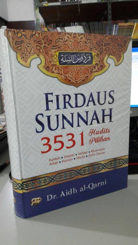Cover Buku Firdaus Sunnah 3531 Hadits Pilihan