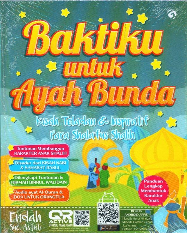 Cover Buku Baktiku untuk Ayah Bunda