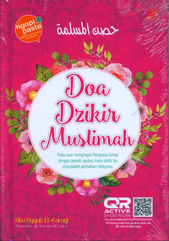 Cover Buku Doa Dzikir Muslimah