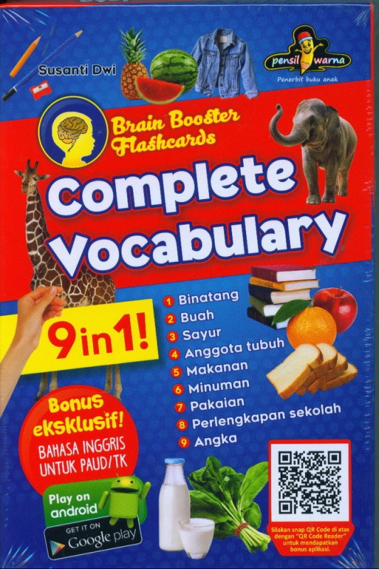 Cover Buku Complete Vocabulary 9 in 1