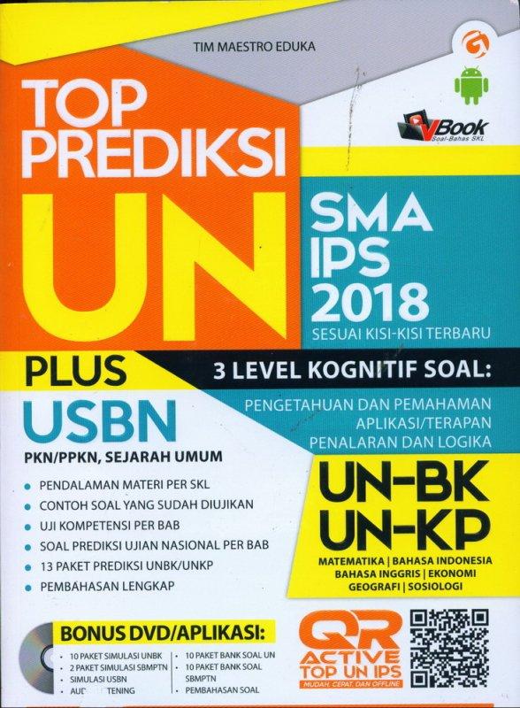 Cover Buku TOP PREDIKSI UN SMA/MA IPS 2018