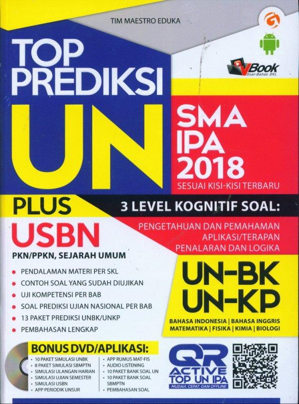 Cover Buku TOP PREDIKSI UN SMA/MA IPA 2018