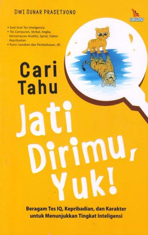 Cover Buku Cari Tahu Jati Dirimu Yuk